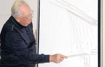 Karl-Heinz Huth, einer der betroffenen Anwohner, zeichnete die Probleme der lärmgeplagten Mieter nach.