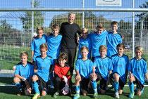 Mannschaft mit Sponsor Holger Lepold