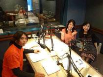 FM NACK5「ラジオフレンズ」収録風景