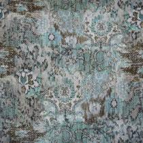 Tissu trame bleue distribué par Ecoute Bergère