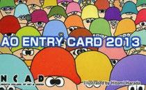 AO ENTRY CARD 2013