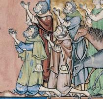 Maciejowski-Bibel: Folio 10v