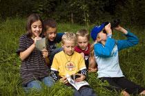 NAJU Kinder erkunden die Natur