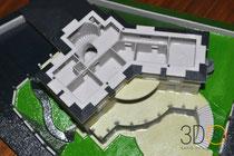3D-Druck Architekturmodell modular aufgebaut