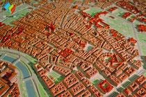 3D-Druck Stadtmodell Wien