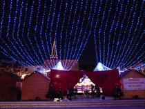 Entrée du marché de Noel