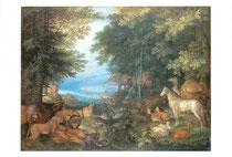 音楽で動物を魅了するオルフェウス