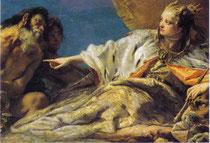 ヴェネツィアに富を捧げるネプトゥヌス(ネプチューン)(部分)