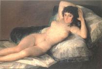 裸のマハ(部分)