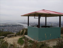御旅山と播磨灘