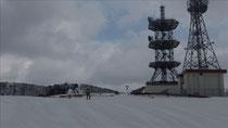 乗鞍岳南の電波塔