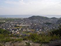 大日山からの播磨灘を望む