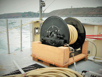 SIG 16.6x8.57 has 6 hydrophones per group, group spacing 8 m, and 57 m long