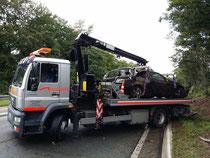 schwerer Unfall A45