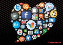 Social Media Heart Image