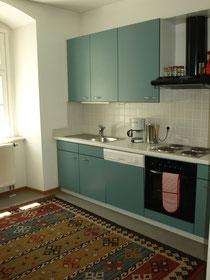 moderne Küche - fein bestückt