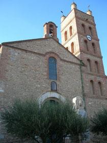 La belle église de Corneilla
