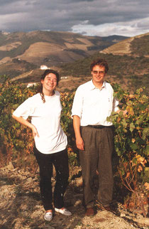 Alison Russell and Dirk Niepoort, Oct. 1997