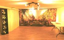 La cave rénovée des Caraman-Chimay