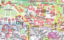 Webstadtplan der Stadt Karlsruhe