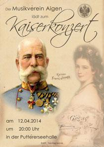 Kaiserkonzert am 12.04.2014