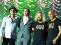 JB (2.v.l.) und seine coolen Bandkollegen in SB, Foto: Nilles