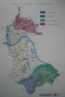 Ausrückebereiche Linz Stadt