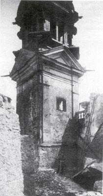 Linker Kirchturm, 1919