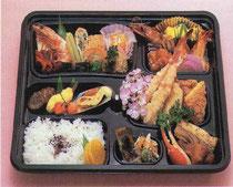 折り詰め弁当の写真