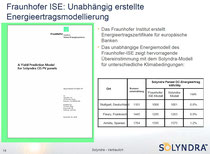 ISE: A Yield Prediction Model for Solyndra CIS PV panels