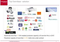 "Centrotherm: ""Top Client Base - selection"", November 2010"