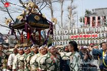 2013年3月10日:塚越稲荷神社 初午祭