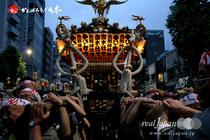 鳥越祭〈本社神輿宮入道中〉@2012.06.10