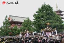 「三社祭」本社神輿・宮出し @ 2012.05.20
