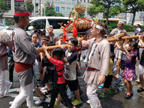 富岡八幡宮例大祭 8/10 (豊洲)・写真投稿: b'さん