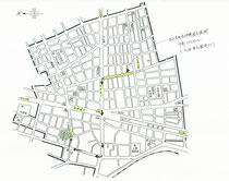 小野照崎神社大祭」連合渡御巡行図