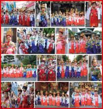 牛嶋神社大祭「お稚児さん」撮影写真