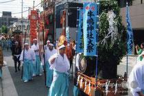 牛嶋神社大祭・鳳輦神幸祭〈1150年大祭:撮影H19年〉写真提供:たーたんさん
