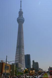 東京スカイツリー神輿パレード@2012.05.19