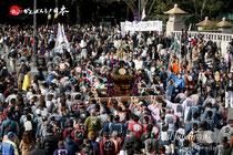 建国祭(紀元祭)神輿パレード @2013.02.11
