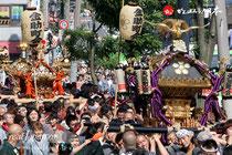 湯島天満宮例大祭 @2012.05.27