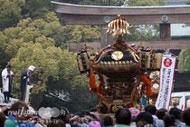 建国祭(紀元祭)神輿渡御