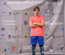 2 veces campeon de España junior temporada 2017-temporada 2018