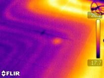 Punto di perdita su impianto riscaldamento