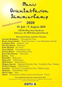 Oriental Summer Camp 2020
