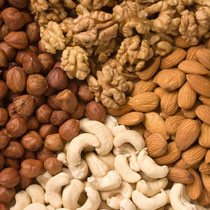 Nuts - Almonds to Walnuts