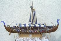 Wikingerschiff 1:24