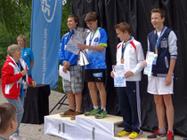 U14-Boys: David Camen (rechts) holt Bronze