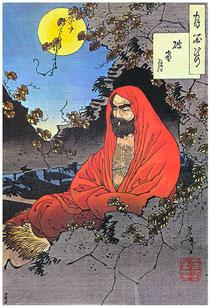 Bodhidaruma der Begründer des Chan-Buddhismus