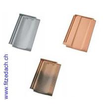 Fitze Dach AG Muster Glattziegel in verschiedenen Farben